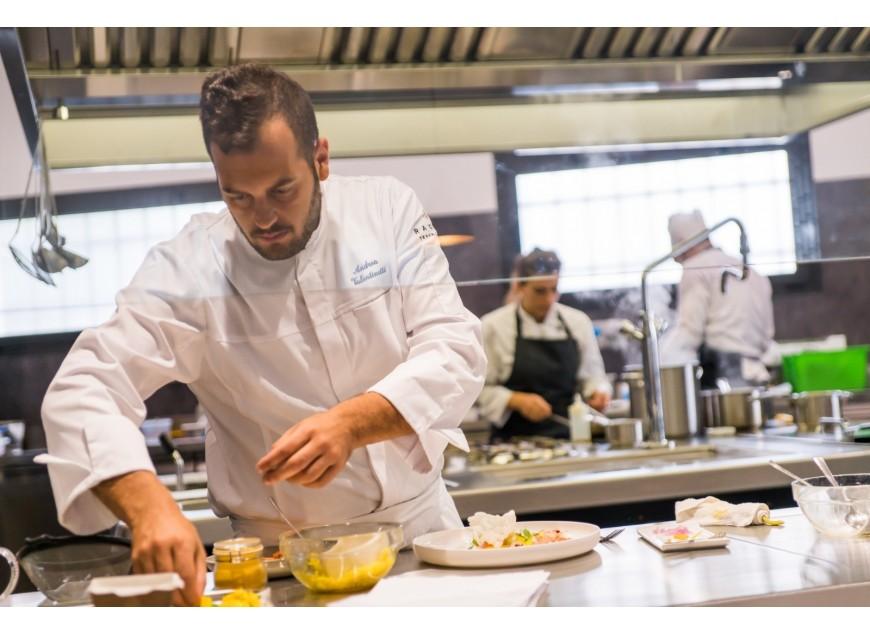 I nostri volti in cucina a Cosmofood: Andrea Valentinetti
