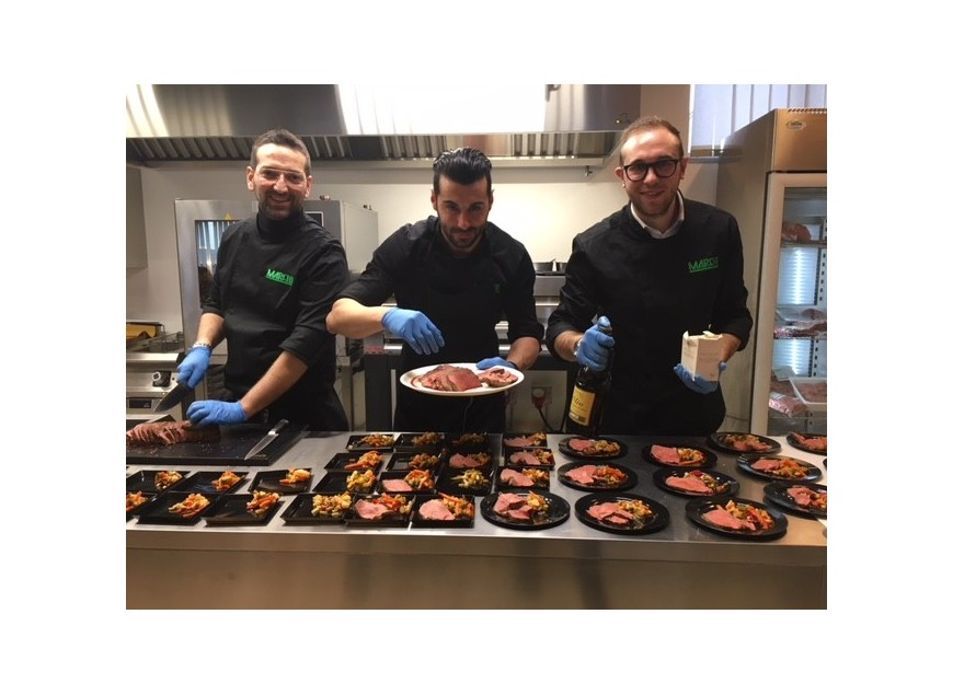 """""""Carne al fuoco"""" in Cooking Room"""